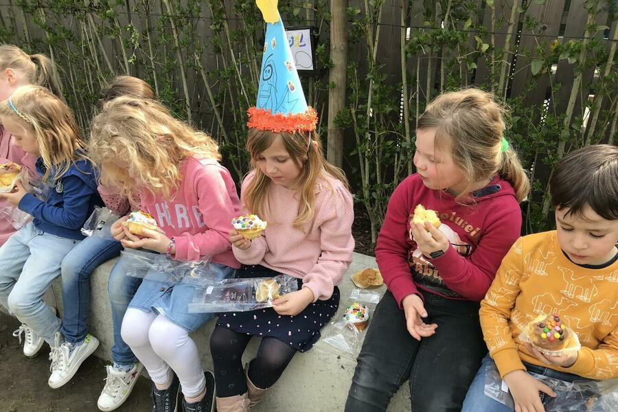 Hoera! Ellie is 6 jaar!