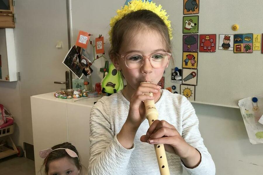 Hoera, Estelle is 6 jaar!